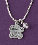Children are a Blessing Necklace