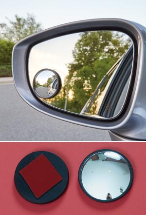 Blind Spot Safety Mirrors - Set of 2