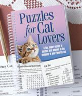 Puzzles for Cat Lovers Book