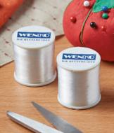 Transparent Thread Spools - Set of 2