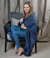 Thermal Blanket Throw - Gray