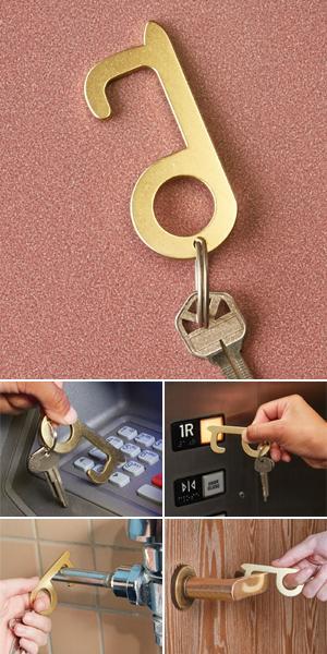 No-Touch Door Opener and Stylus
