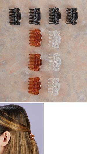Mini Hair Claws - Pkg. of 10