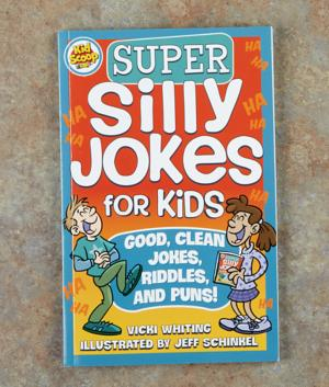Super Silly Jokes for Kids Book