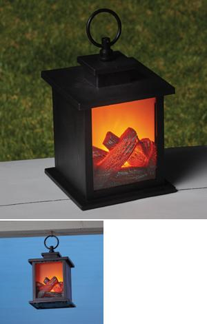 Flame Effect Lantern