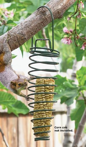 Squirrel Corn Feeder