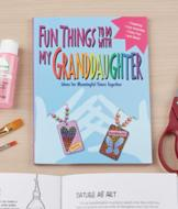 Fun Things to do with My Granddaughter Book