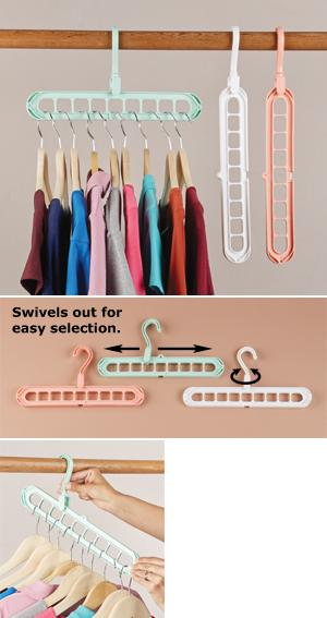 Space-Saving Hangers - Set of 3