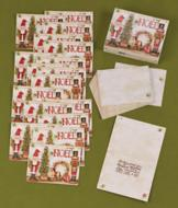 Holiday Nutcrackers Cards - Set of 18