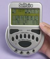 Mega Screen Electronic Solitaire