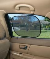 Self-Adhering Window Shades