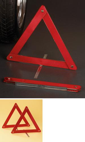 Roadside Reflector Triangles - Set of 2