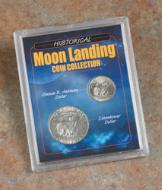 Moon Landing Coin Collection