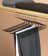 Nonslip Pants Hangers - Set of 12