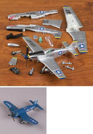 Snap-Together Fighter Aircraft