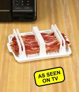 Bacon Wave Microwave Tray
