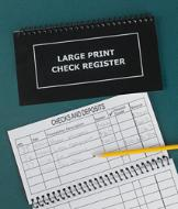 Large-Print Check Register