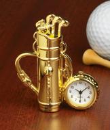 Golfer's Desk Clock