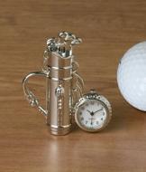Mini Golf Bag Clock