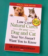 Low Cost Natural Cures for Your Dog and Cat Book