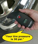 Talking Tire Gauge