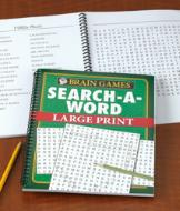 Brain Games Large Print Search-a-Word Book