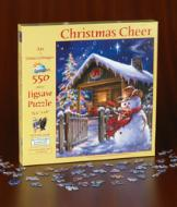 Christmas Cheer 550-Piece Puzzle