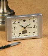 Glow-in-the-Dark Time and Temperature Alarm Clock