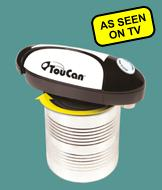 TouCan Hands-Free Can Opener