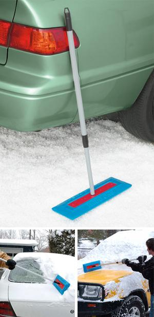 Telescoping Auto Snow Broom
