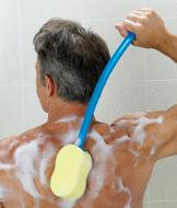 Long-Handled Bath Sponge