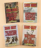 Zane Grey Books - Set of 4