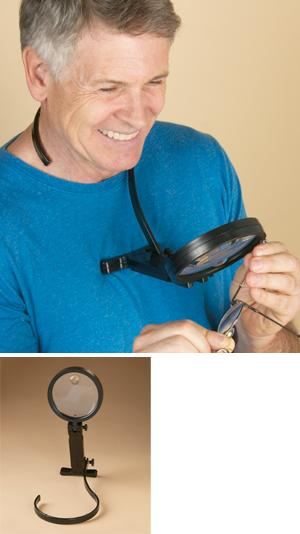 Over-Neck Magnifier
