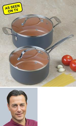 Gotham Steel Pot - 5-Quart