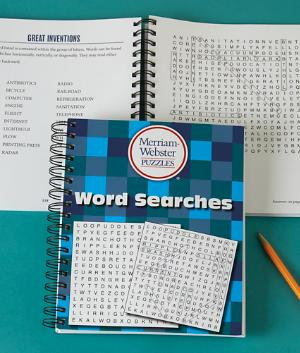 Word Searches Book