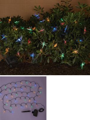 Dragonfly Garden Lights   40 Light Strand