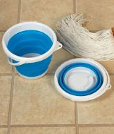 Collapsible Chore Bucket with Handle