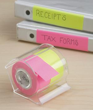 Stick-Em's Roll Notes - Dispenser with 2 Rolls