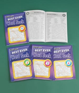 Best Ever Word Puzzles - Pack of 4 Books
