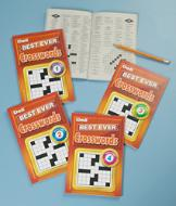 Best Ever Crosswords Puzzle Collection - Set of 4