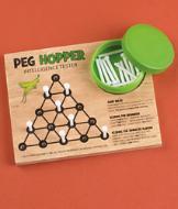 Peg Hopper Game