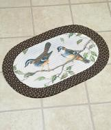 Braided Bird Rug