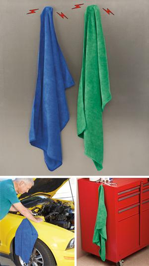Magnet-Mount Microfiber Towels - Set of 2