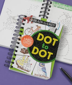 Dot to Dot Brain Games Book