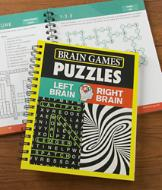 Brain Games Left Brain Right Brain Puzzle Book