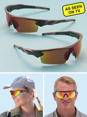 Battle Vision HD Polarized Sunglasses - 2-Pairs