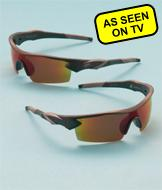 Battle Vision HD Polarized Sunglasses - 2-Pairs