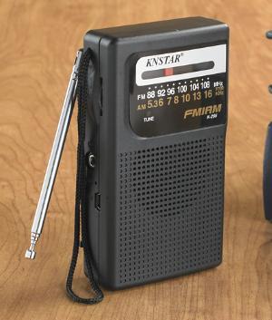 Compact FM/AM Radio