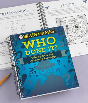 Who Done It? Brain Games Book