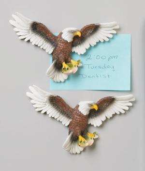 American Bald Eagle Magnets - Set of 2
